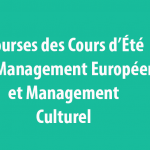 Bourses des Cours d'Été en Management Européen et Management Culturel