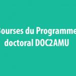 Bourses du Programme doctoral DOC2AMU