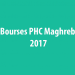 Bourses PHC Maghreb 2017