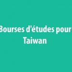 Bourses d'études pour Taiwan