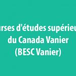 bourse BESC Vanier