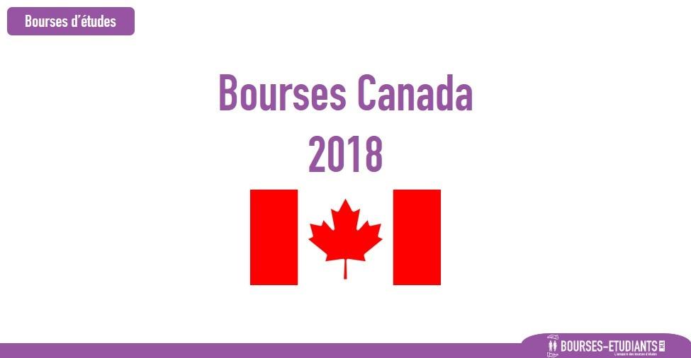 bourses d'étude Canada