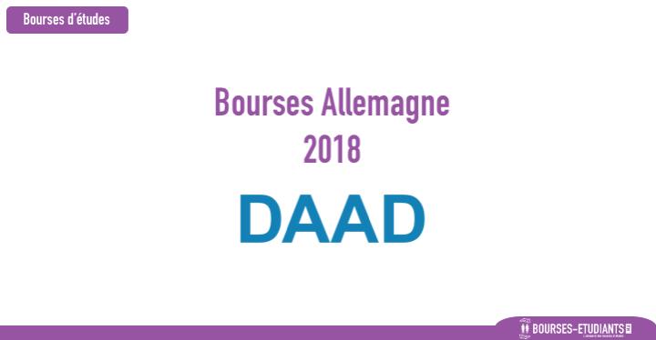daad bourses Maroc