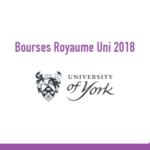 Bourses Maroc University of york