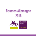 Bourses maroc Joachim Herz Stiftung