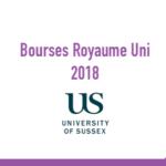 University of Sussex Bourses Maroc