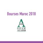 isiam agadir bourses Maroc