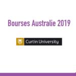 Curtin University bourse