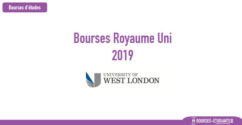 Bourses D Etude Royaume Uni 2019 University Of West London Bourses Etudiants Ma