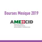 Bourses Maroc 2019 - Mexique
