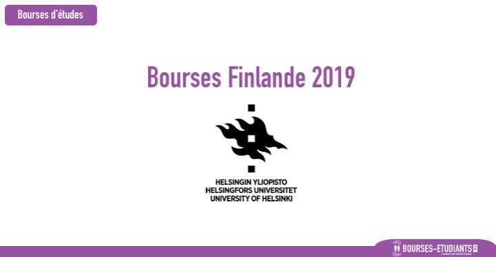 Bourses de recherche - Finlande 2019 - University of Helsinki bourses maroc 2019