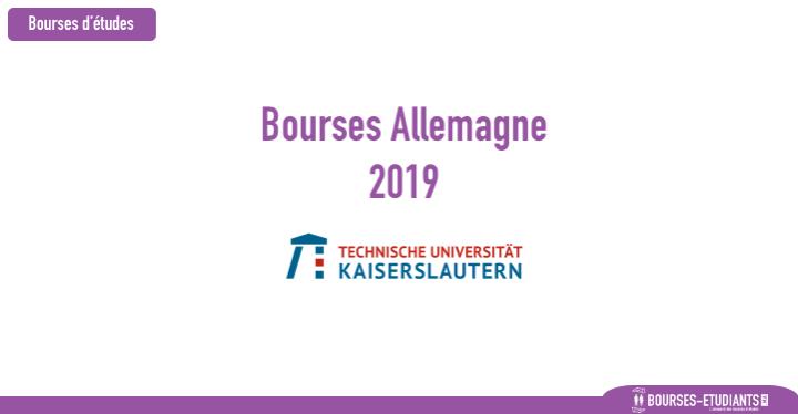 University of Kaiserslautern bourses Maroc 2019