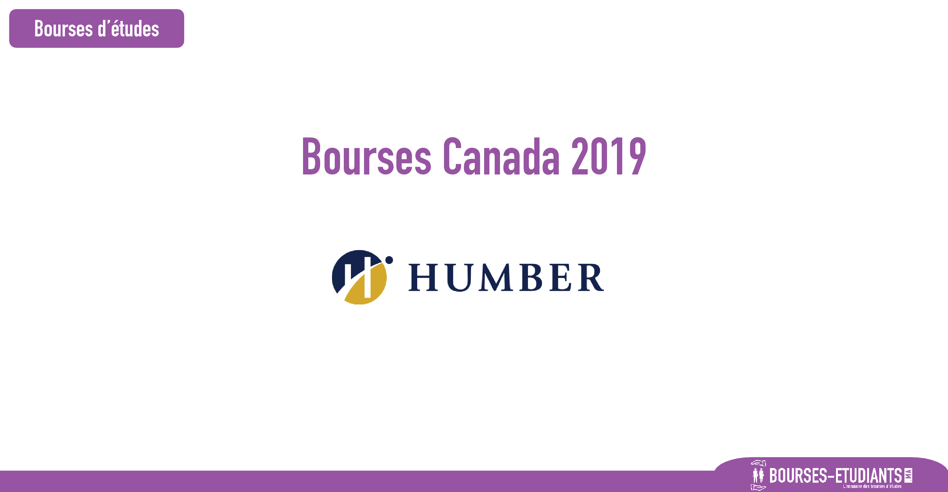 Bourses d'étude Canada 2019 : International Entrance