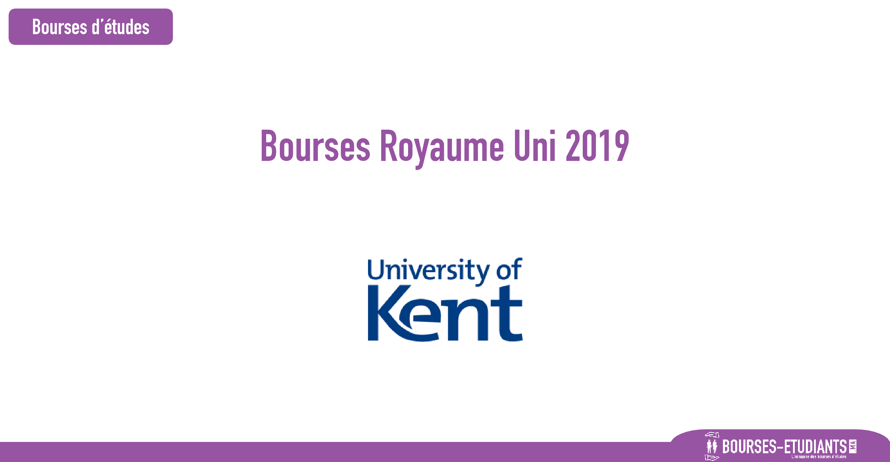bourse university of kent