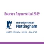 bourse University of Nottingham