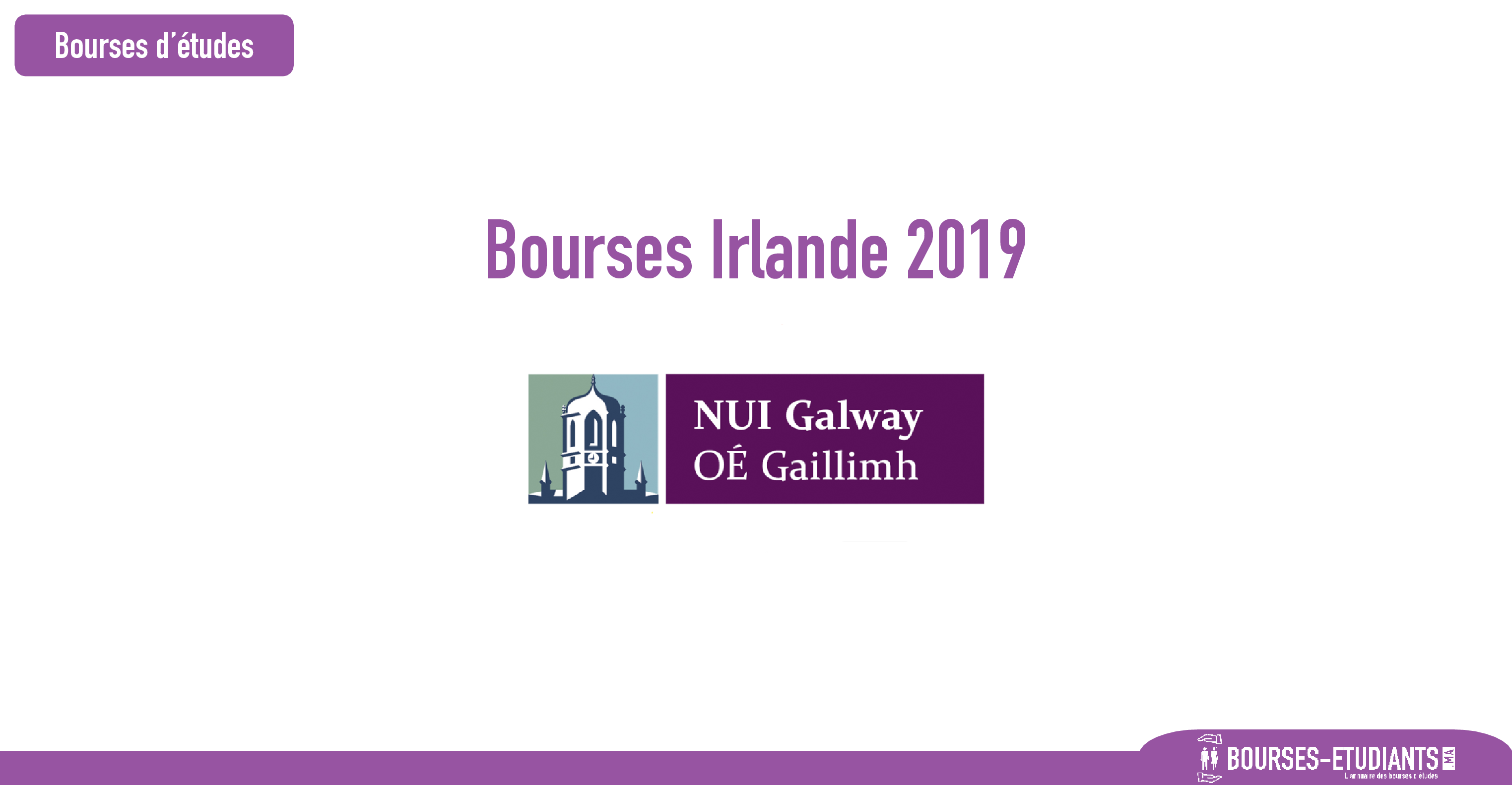 bourse nui galway