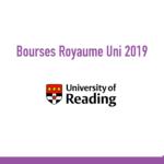 bourse University of Reading