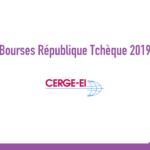 bourse CERGE-EI