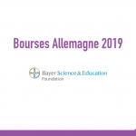 bourse Bayer Science & Education Foundation