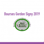bourse Gordon Signy Fellowships