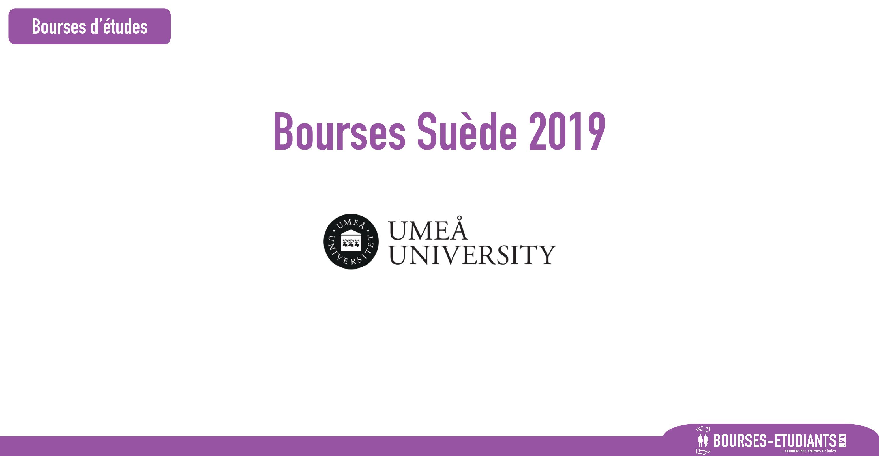 Bourses de recherche Suède 2019 : Postdoctoral Fellowship for