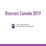 bourse University of British Columbia