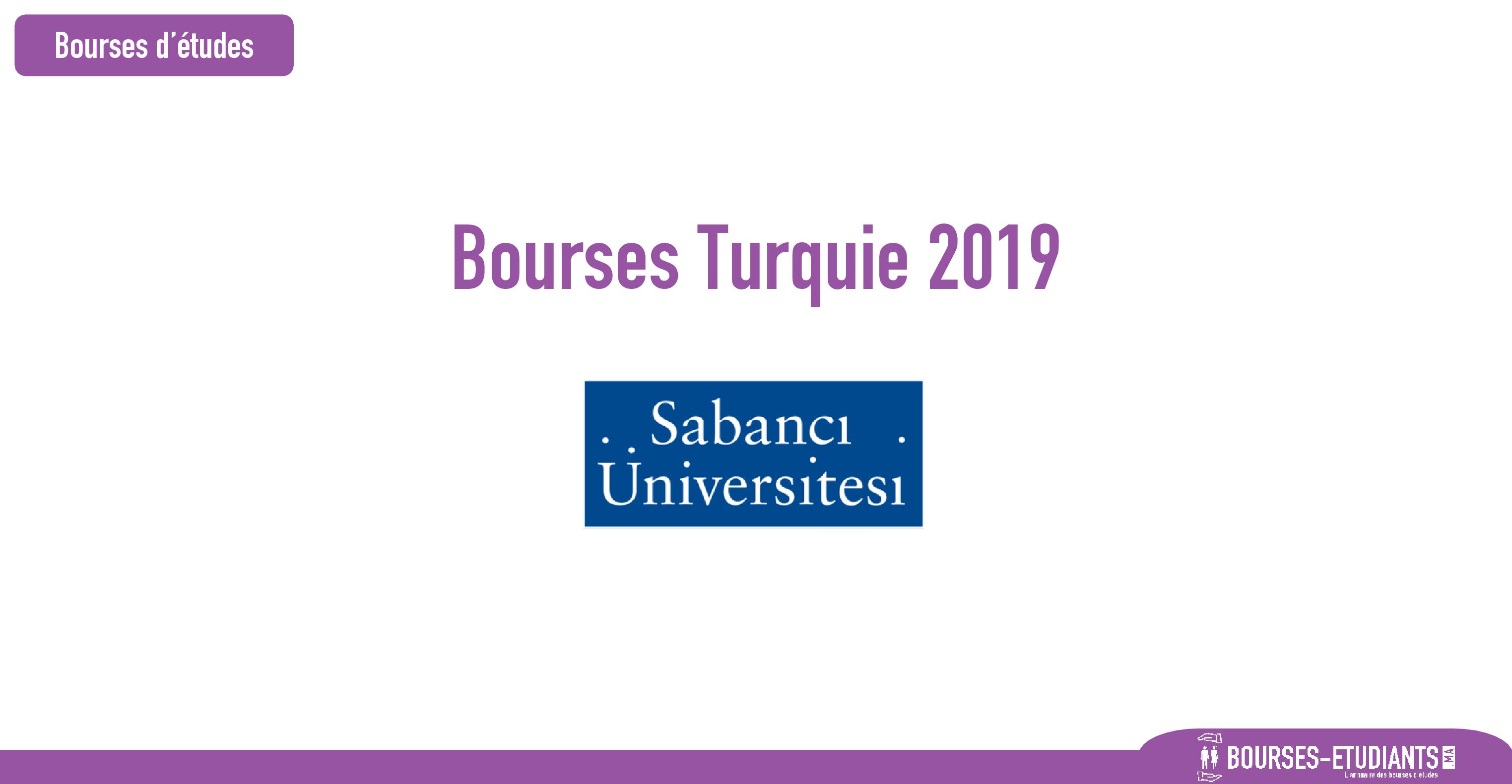 bourse Sabancı University