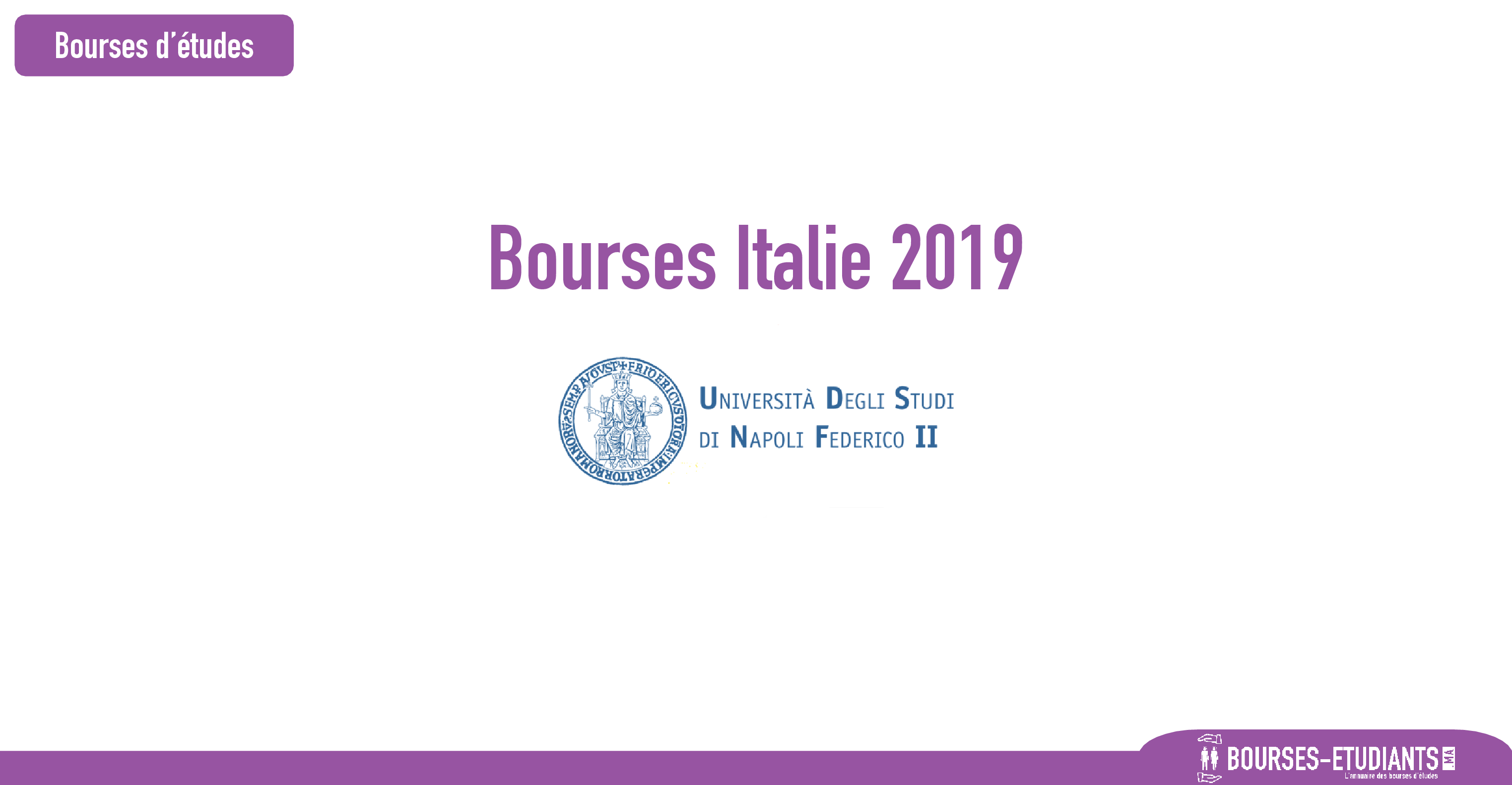 bourse University of Naples Federico