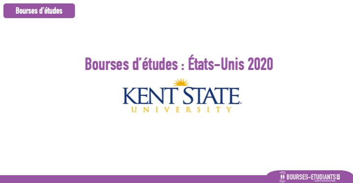 Bourse d'étude États-Unis 2020 : Kent State University