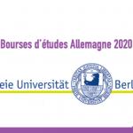 Bourse d'études Allemagne 2020 : Freie Universität Berlin