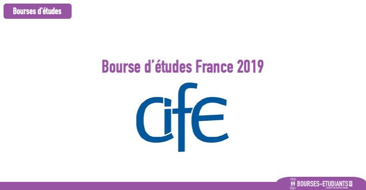 Bourse d'études France 2019 : Centre Internationale de Formation Européenne