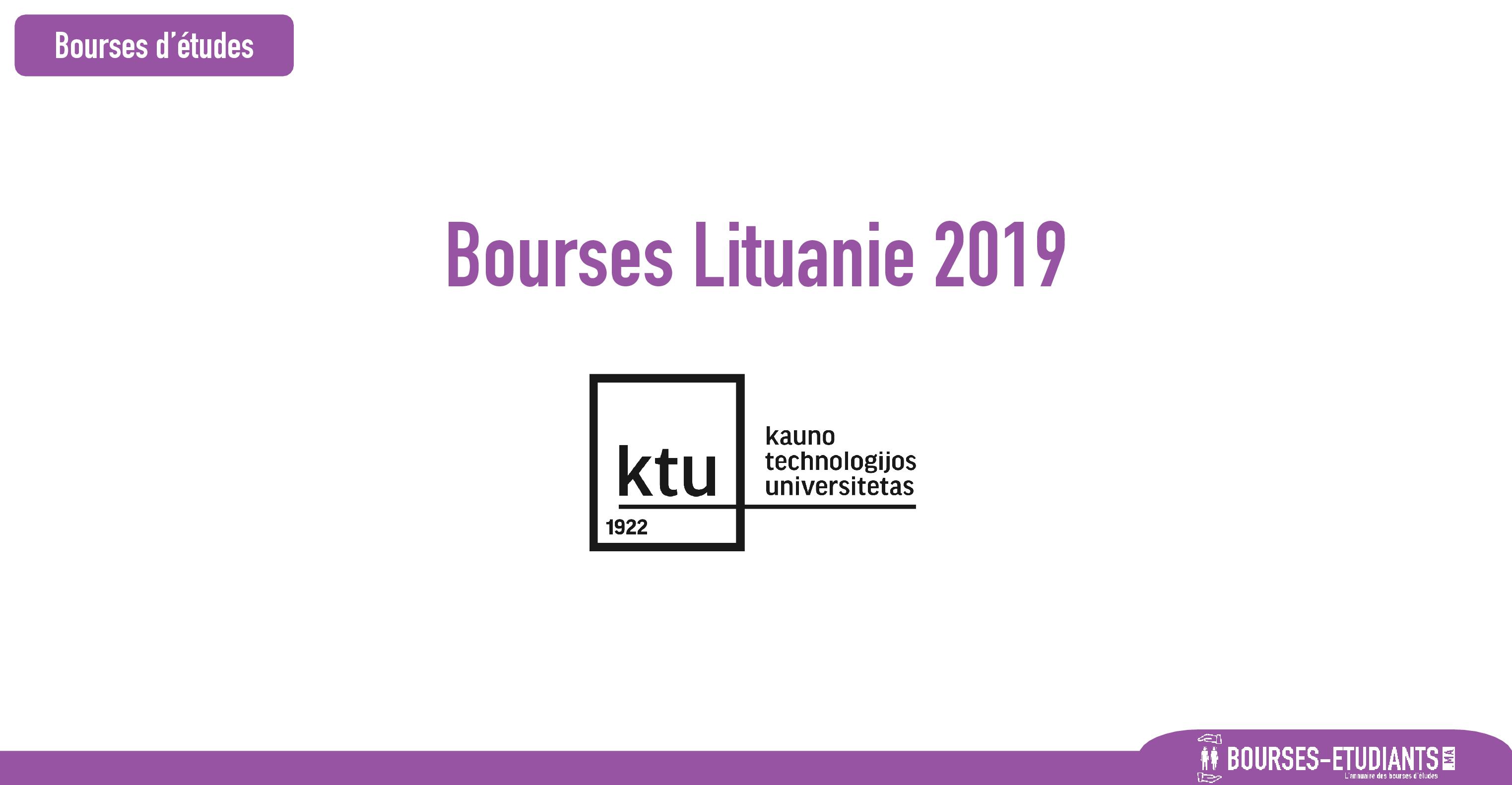 bourse Kaunas University of Technology