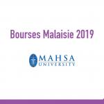 bourse MAHSA University