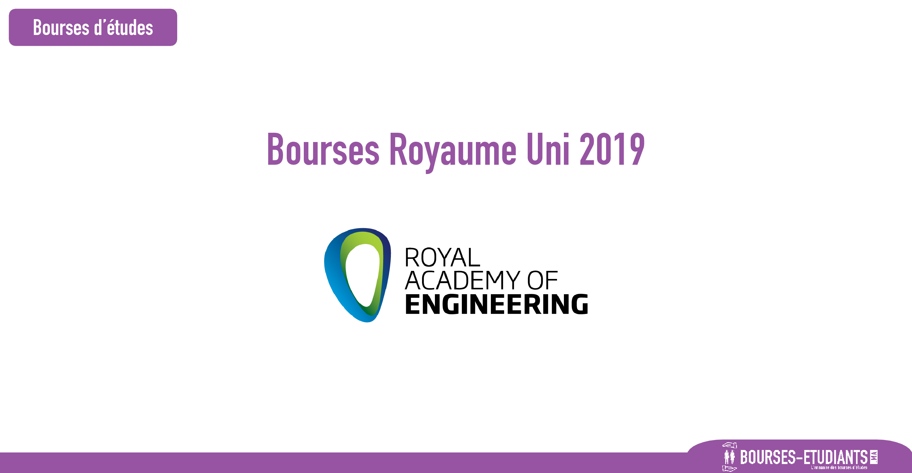 bourse Royal Academy of Engineering