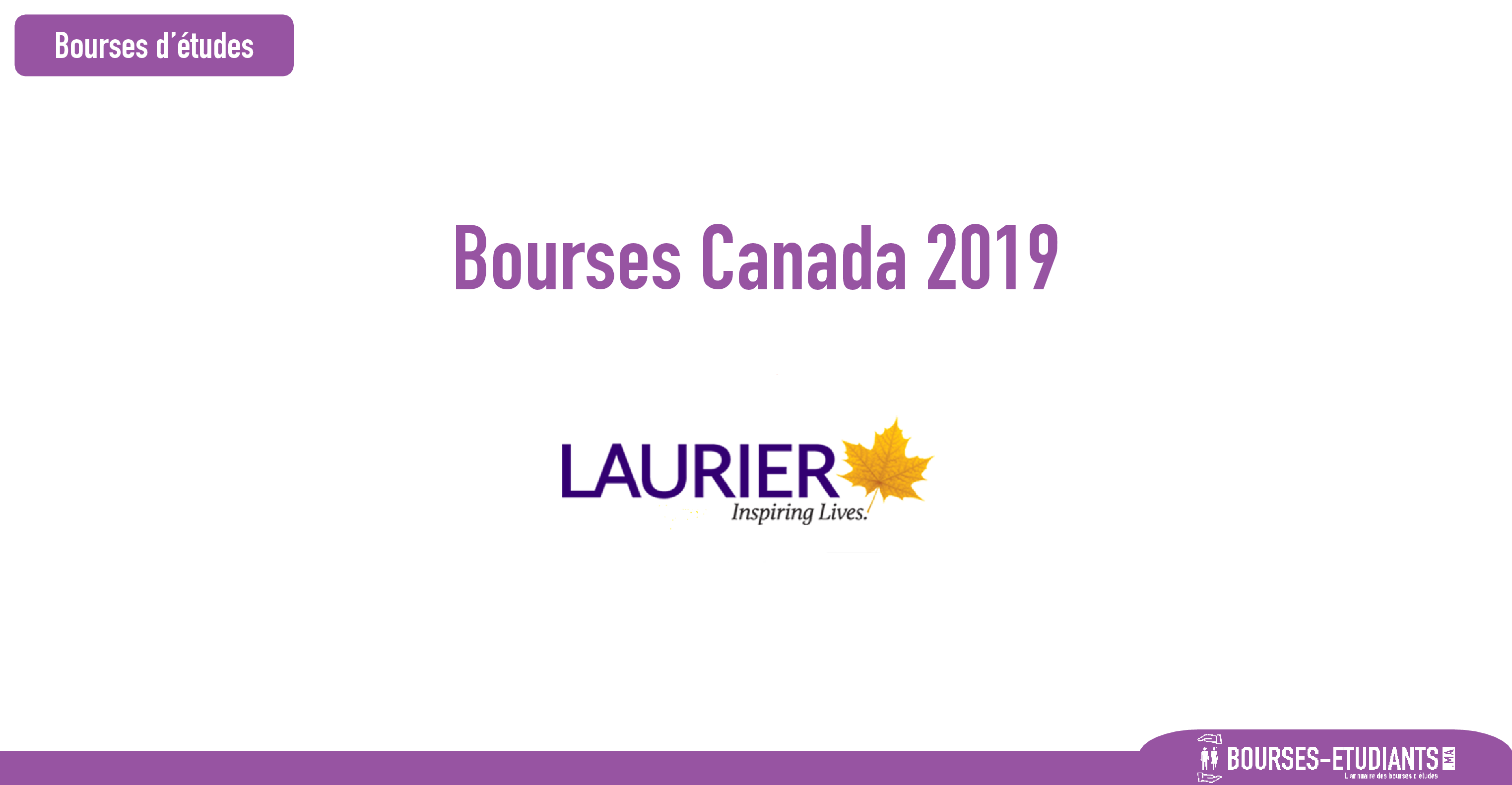 Bourses d'étude Canada 2019 : Scholarships for International