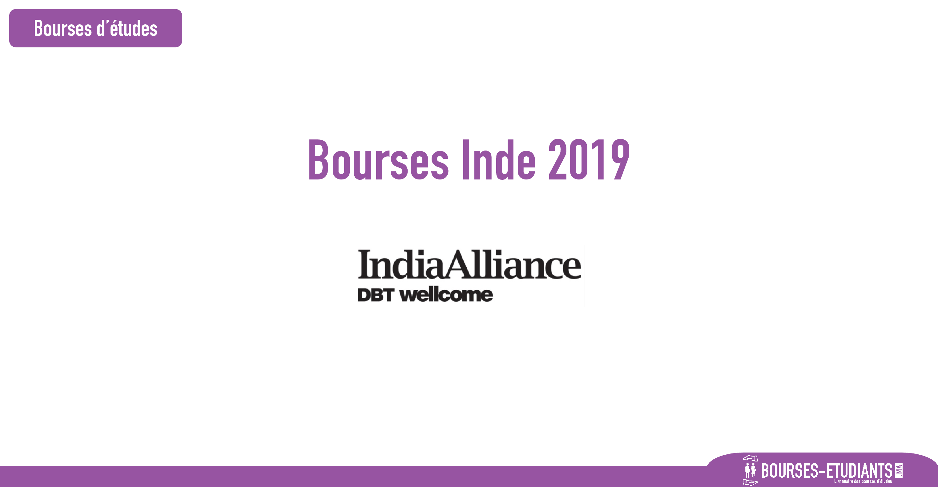 bourse India Alliance
