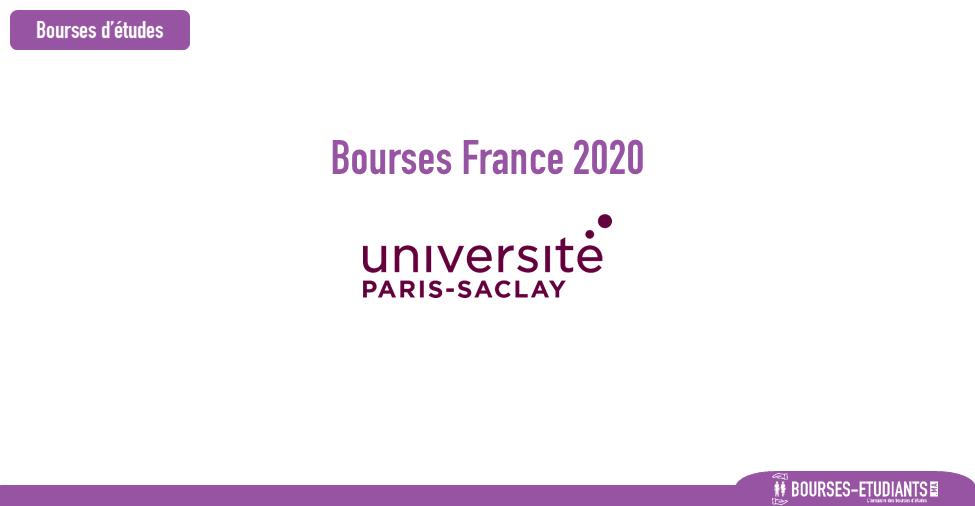 bourse université paris-saclay