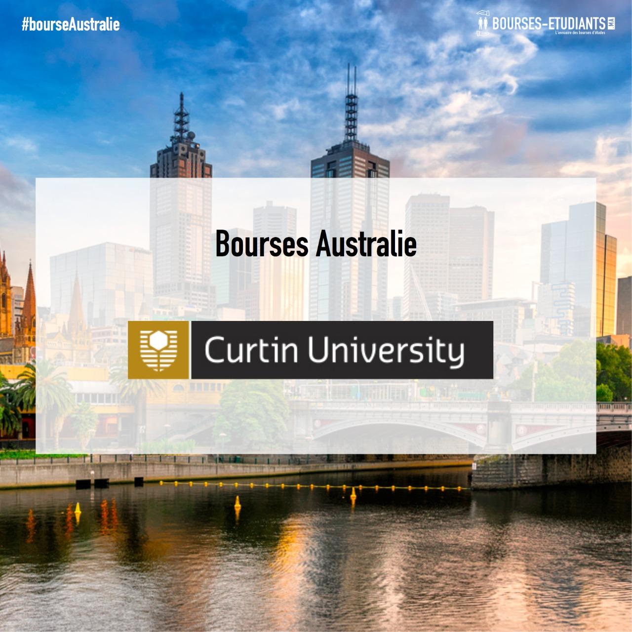 Bourses D'étude Australie 2019 : Curtin University