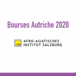 bourse Afro Asiatisches Institut Salzburg