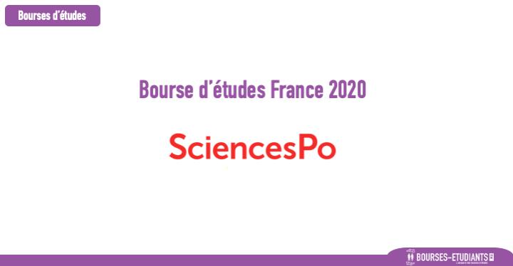 Bourse d'études France 2020 : Sciences Po - Bourse Master Émile Boutmy