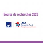 Bourse de recherches - Axa Research Fund