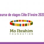 Bourse de stages Côte D'ivoire 2020 : Programme de Leadership de la fondation Mo Ibrahim