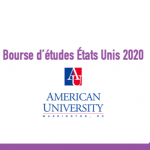 Bourse d'études États Unis 2020 - American University Washington DC