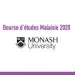 Bourse d'études Malaisie 2020 : Monash University