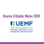 Bourse d'études Maroc 2020 - UEMF