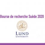 Bourse de recherche Suède 2020 : Lund university