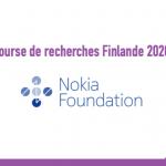Bourse de recherches Finlande 2020 - Fondation Nokia