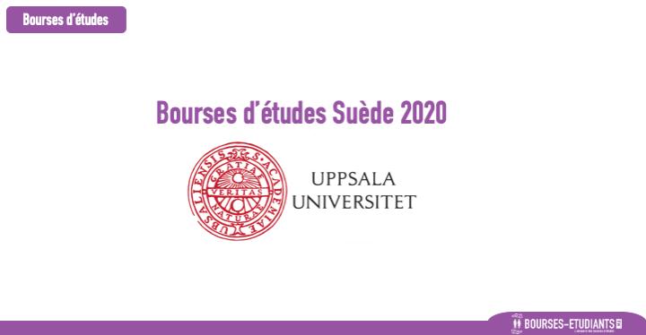 Bourses d'études Suède 2020 - Uppsala University