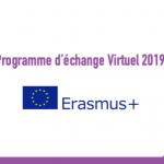 Programme d'échange Virtuel 2019 : Erasmus+