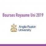 bourse Anglia Ruskin University